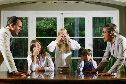 Без конфликтов в семье
