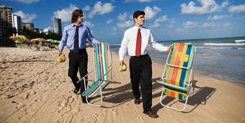 бизнес во время отпуска